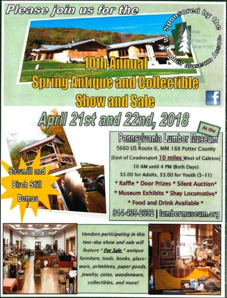 4-21/22 Antique & Collectible Show & Sale