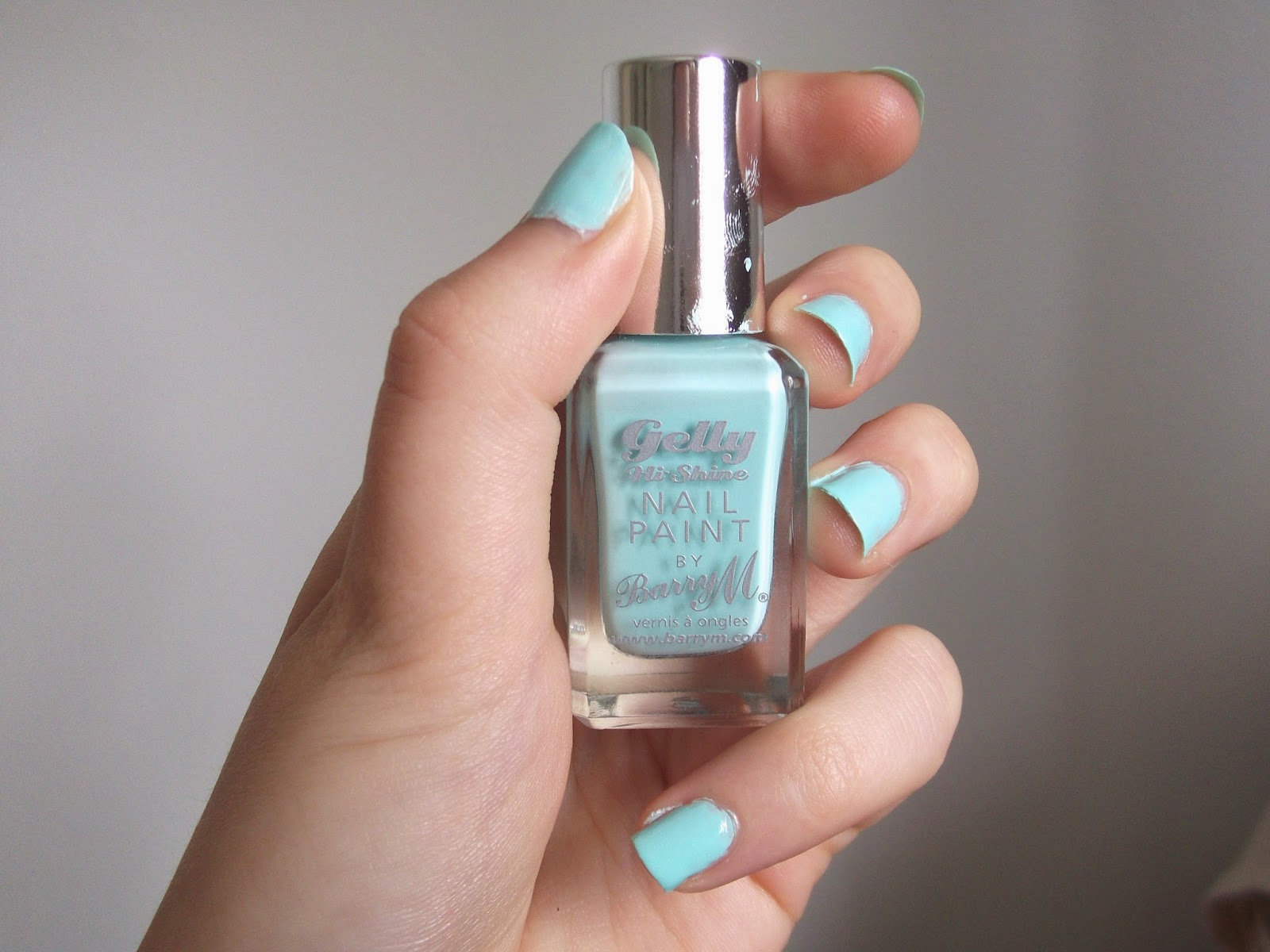 Barry M Gelly Hi- Shine Nail Paint in 'Sugar Apple'