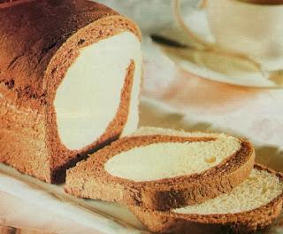Receta Pan de dos colores