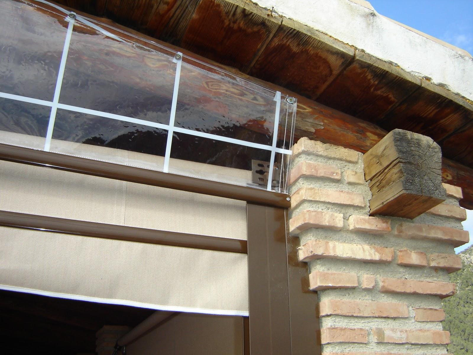 Joymar cortinas y toldos - Como cerrar un porche ...