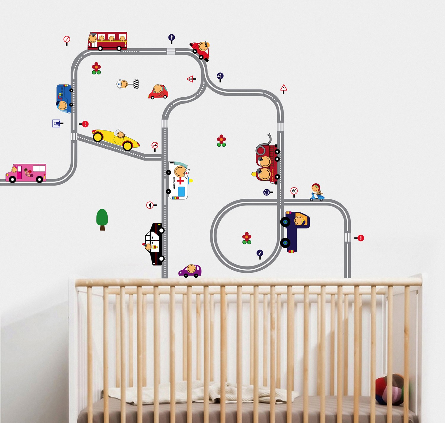 childrens wall stickers wall decals interior. Black Bedroom Furniture Sets. Home Design Ideas