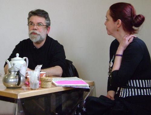 Apar-thé avec Sara Doke et Xavier Mauméjean