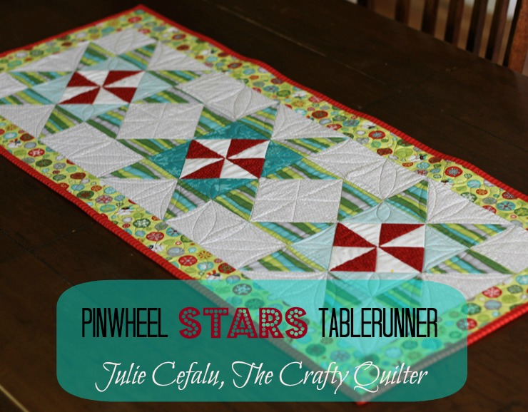 Quilt Inspiration: Free pattern day: Christmas Table Runners!