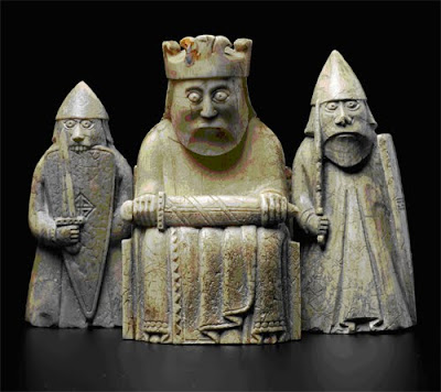 Art propelled a review by lynne perrella - Lewis chessmen set ...