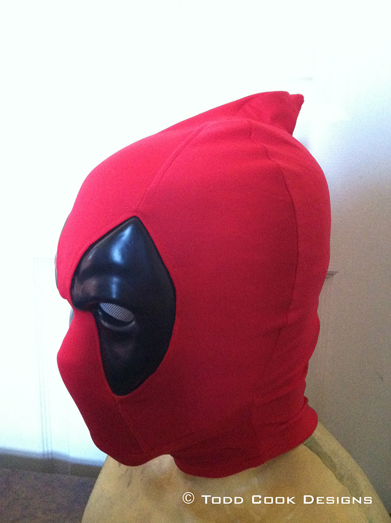Todd Cook Designs Commissioned Deadpool Mask