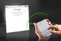 iPhone, iPod as external keyboard for iPad