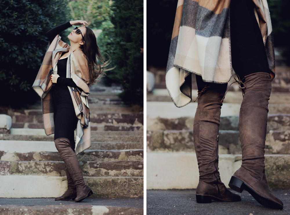 aimerose fashion blog france cape fall outfit