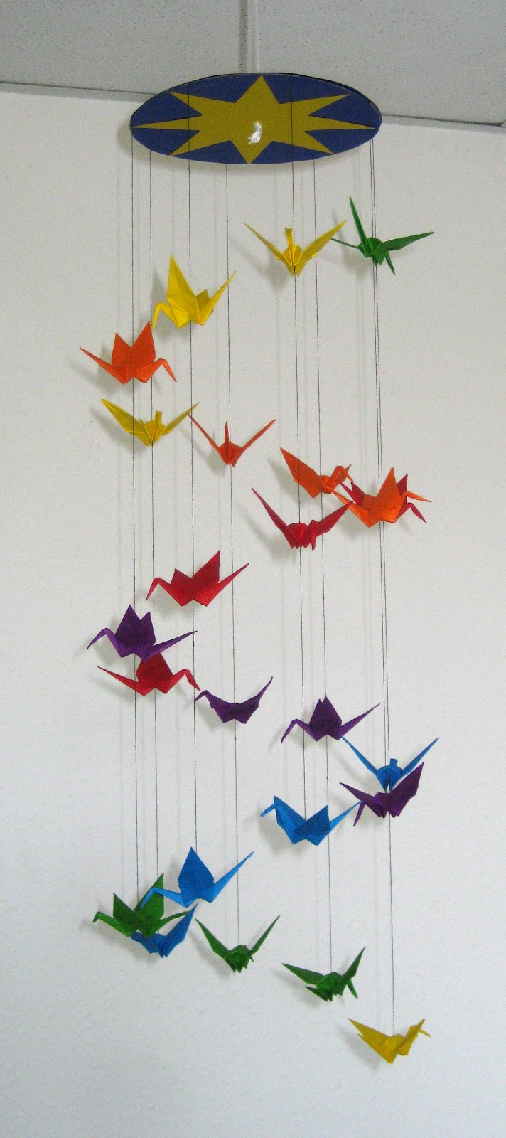 365 Days Of Stargazing 203 Paper Crane Mobile