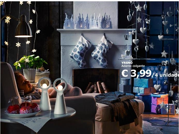 Boho deco chic nos vamos de tiendas ikea en navidad - La casa sueca ...