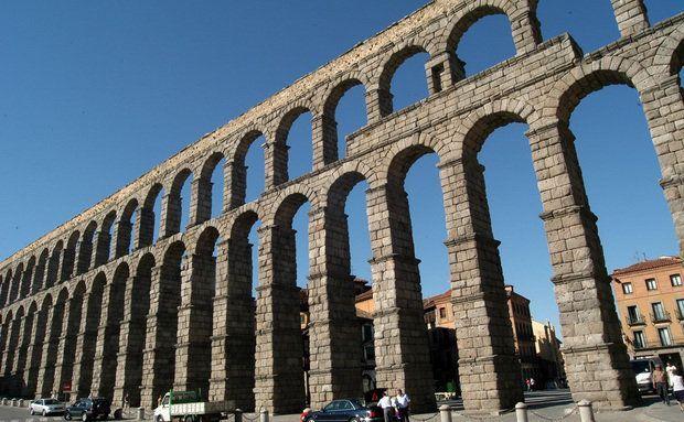 Papiro nanquim roma a cidade e o imp rio mundial algumas constru es - Acueducto de segovia arquitectura ...