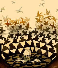 Pájaros de Escher