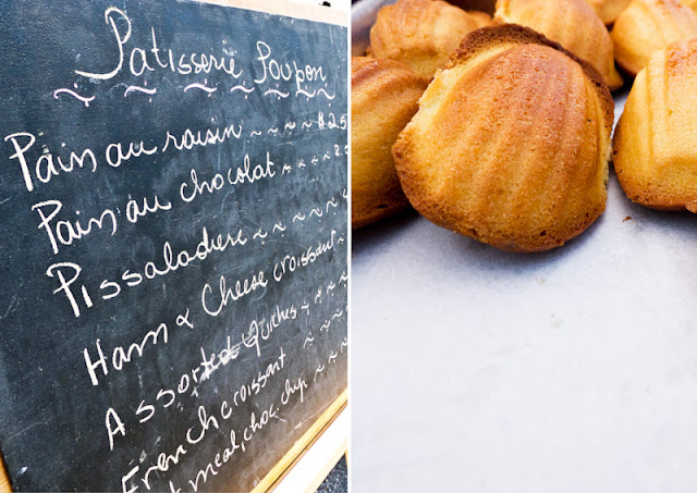 Madeleines, Patisserie Poupon