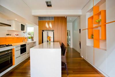 decoración cocina colorida