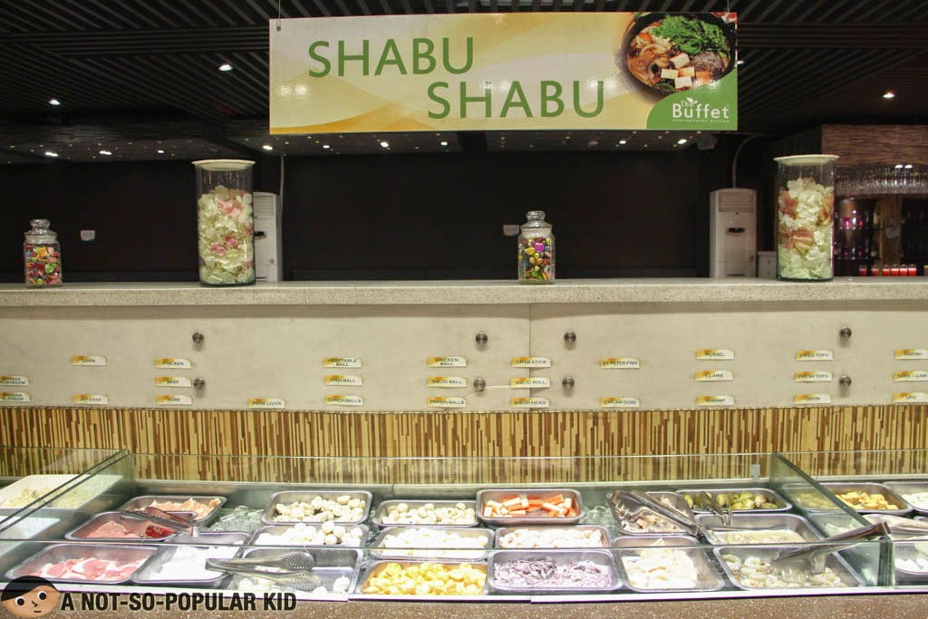 Healthy Shabu-Shabu of The Buffet International Cuisine