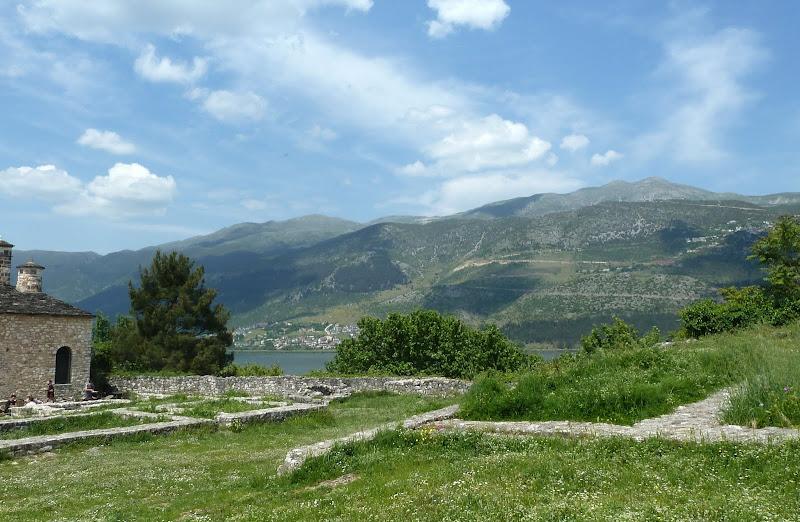 Blick von der Kastro in Ioannina (Epirus)