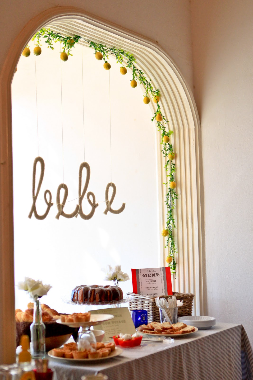 pour le bebe a french cafe themed baby shower