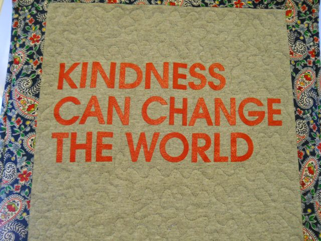 Snug Harbor Quilts: Kindness Can Change the World : kindness quilt - Adamdwight.com