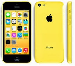 Apple iPhone 5c Kuning