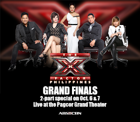 X-Factor Philippines Grand Finals promotion