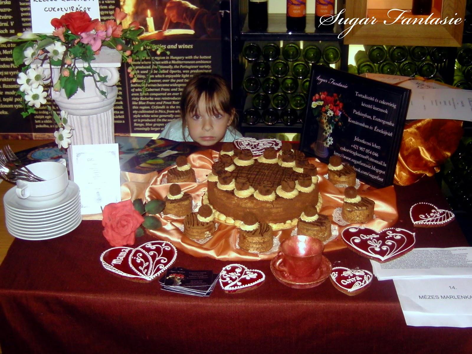 mézes sütemény verseny