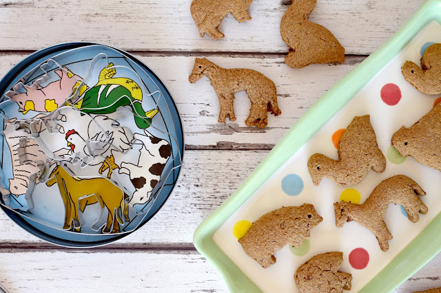 Healthy Spiced Animal Biscuits Recipe
