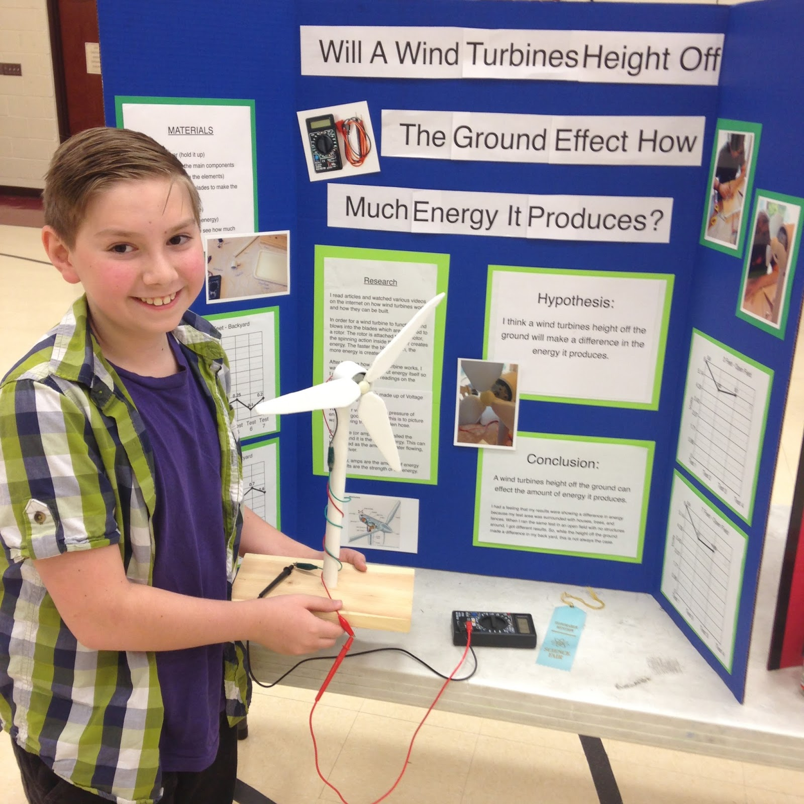 Electric Motor Science Project