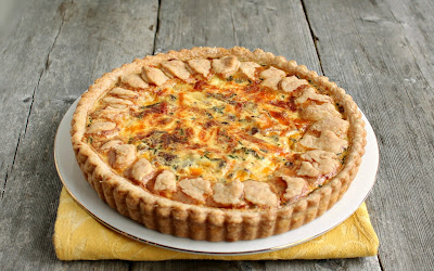 Bacon, Egg and Cheese Tart