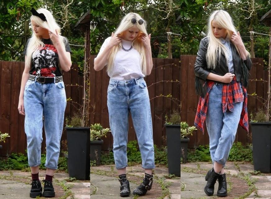 AZTEC DOLL: Ways to Wear . . . Mom Jeans
