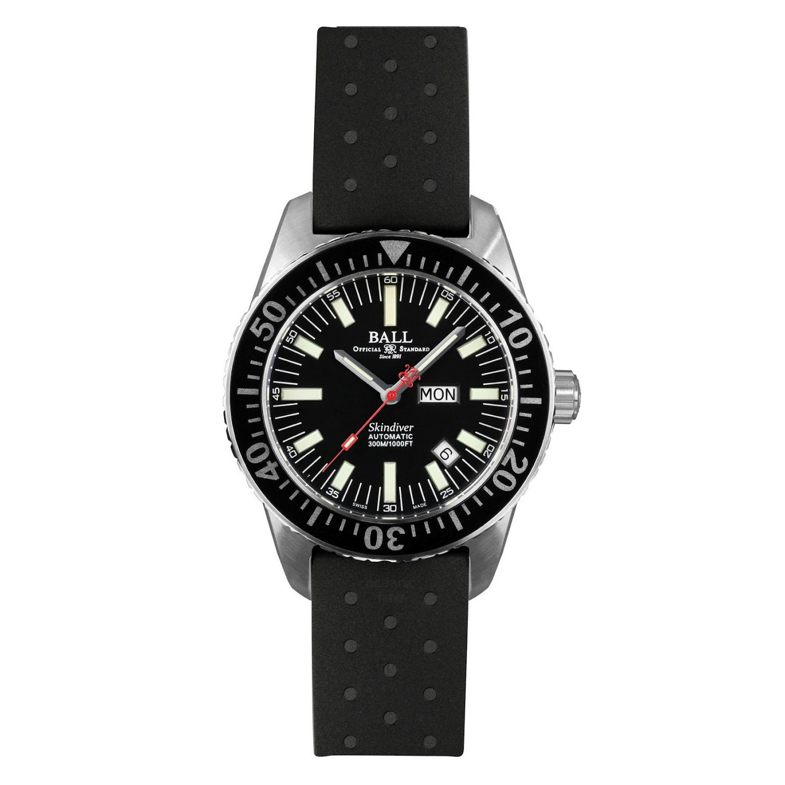 Ball watch co engineer master ii skindiver for Ball watches