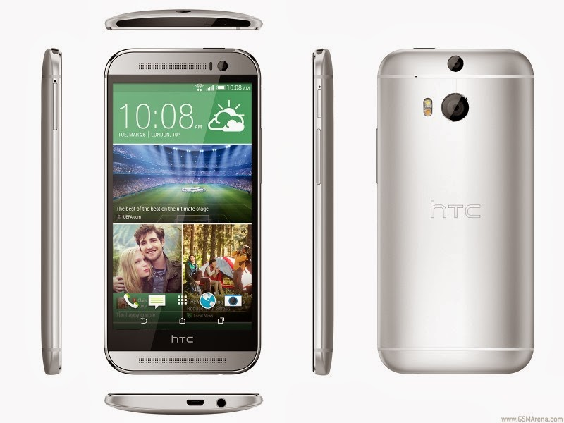 HTC One (M8) officially announced, specs inside