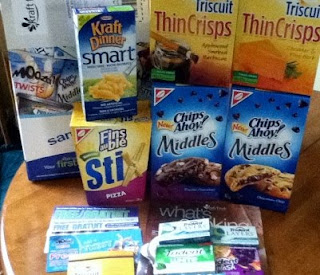 Kraft Food Freebies