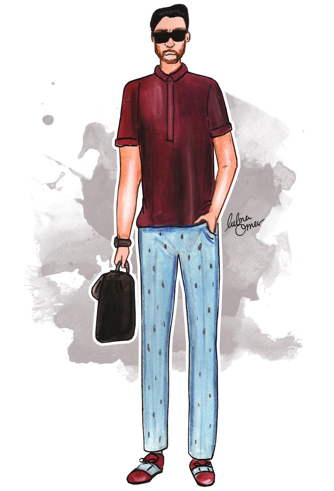 Filippo Fiora illustration by lubna omar