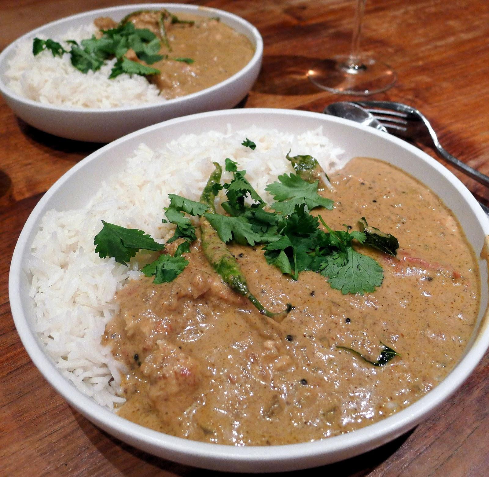 Culinary Adventures in London: Goan Fish Curry