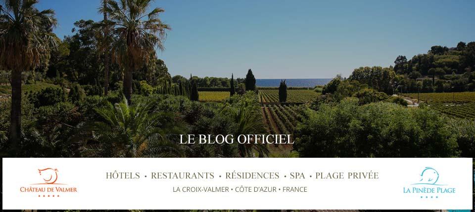 Blog Officiel du Château de Valmer et de l'hôtel la Pinède Plage