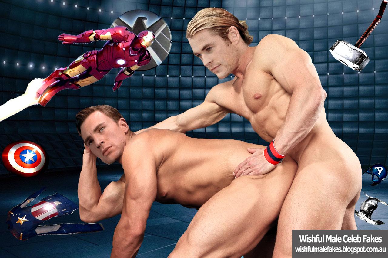 Captain America Gay Fakes