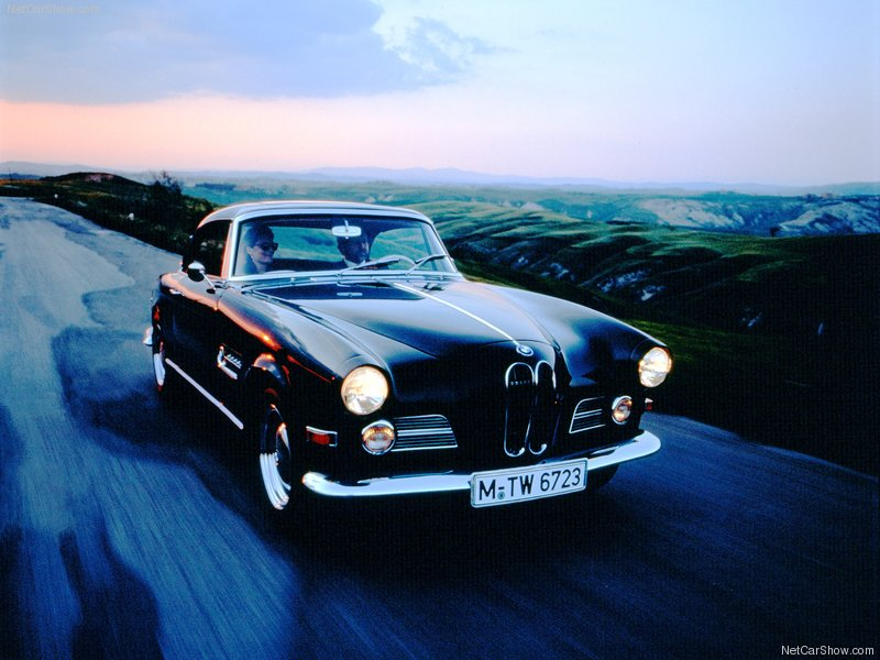 1956 - BMW 503 Coupe Wallpapers for PC ~ BMW Automobiles