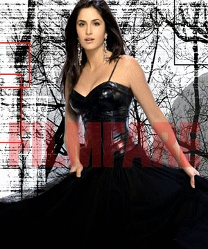 Katrina Kaif  black hot