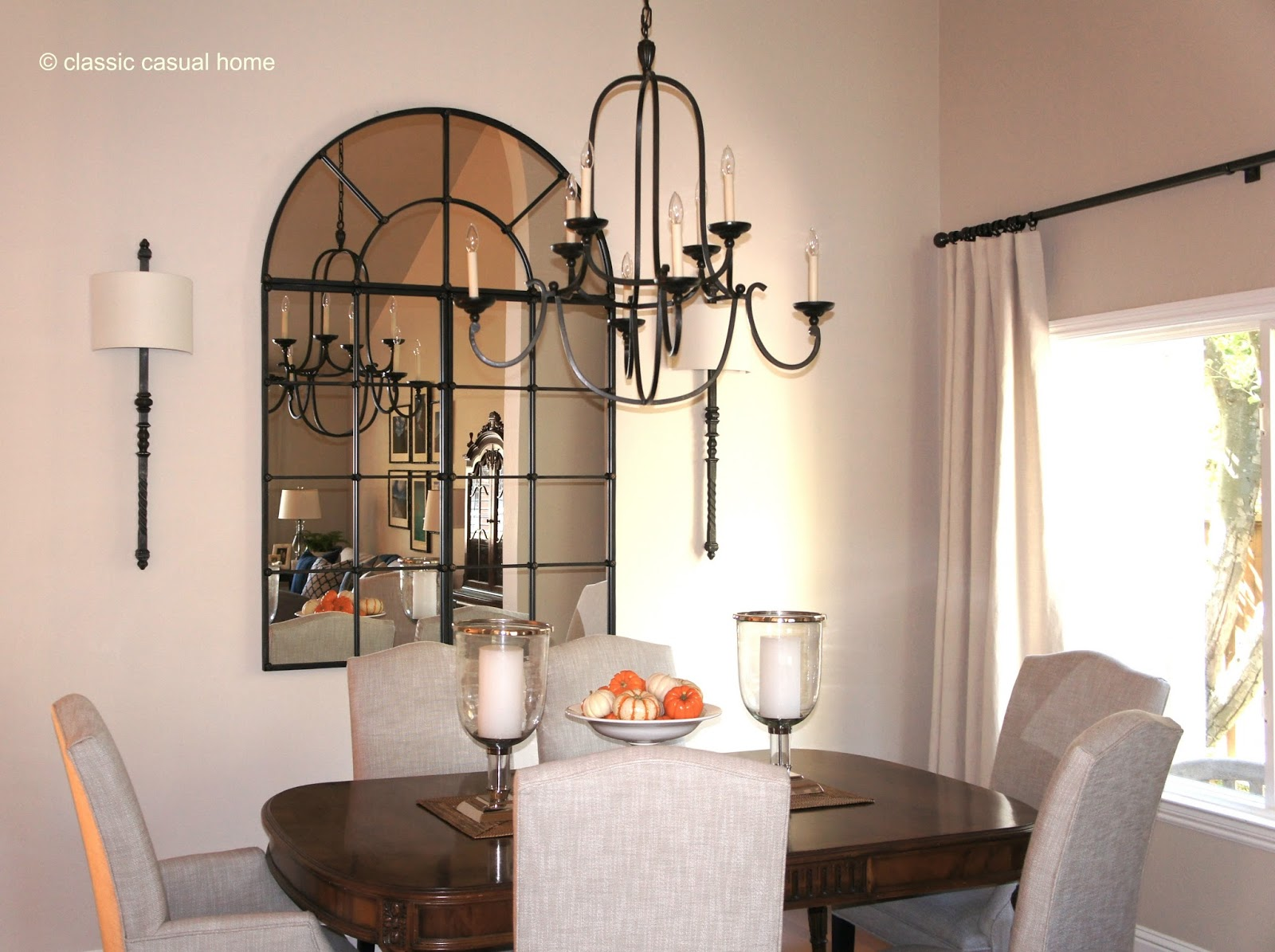 Comfortable, Usable Dining Room Updates: Before And After   Classic Casual  Home