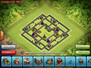 Town Hall 9 base 2016 Clash of Clans