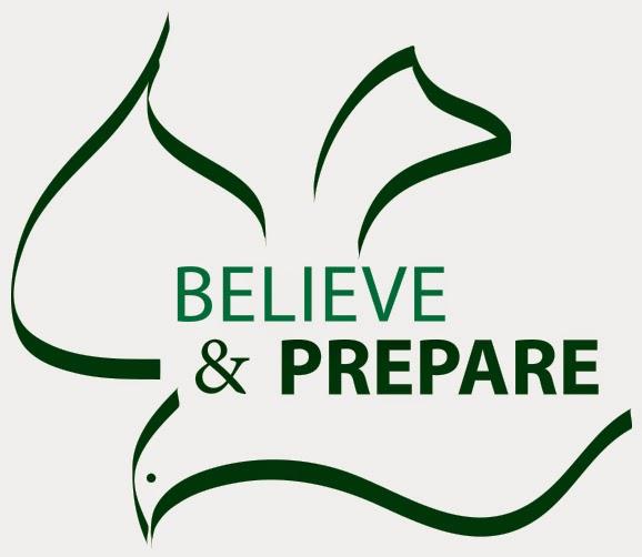 Believe and Prepare Logo