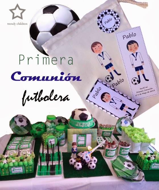 primera comunión fútbol