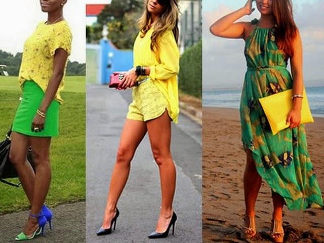 Em ritmo verde e amarelo