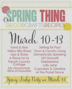 Celebrate Spring! Join the It's a Spring Thing Blog Hop and Linky Party!