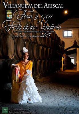 FIESTA DE LA VENDIMIA 2015 - VILLANUEVA DEL ARISCAL DECLARADA BIEN DE INTERÉS CULTURAL ANDALUZ Y FIESTA DE INTERÉS TURÍSTICO DE ANDALUCÍA