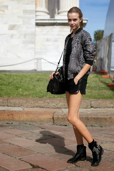 Model off duty style: Wear ankle boots like a supermodel ...