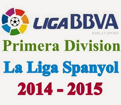 Jadwal Lengkap Pertandingan La Liga Spanyol 2014-2015