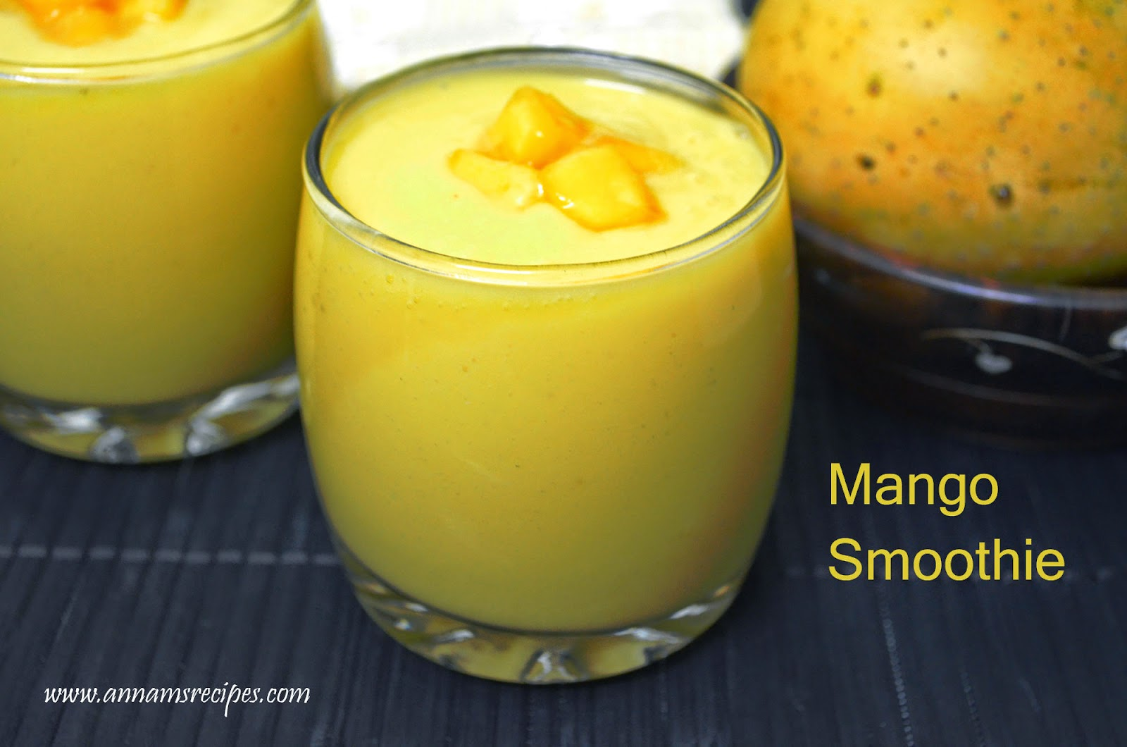 Mango Smoothie | Annam's Recipes