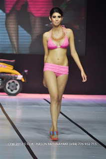 Colombo Fashion Week 2012 Bikini Photos