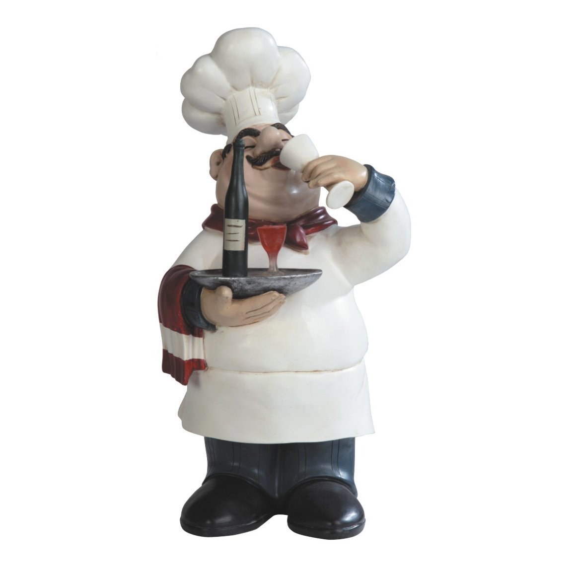 Italian Chef Decorations Kitchen Total Fab Fat Chef Statues A Bit Of Bistro Themed Kitchen Decor