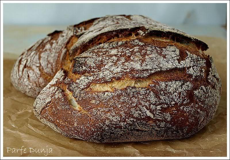 Nema te vrućine ili umora, a da ja ne napravim ovaj kruh. Jedan dan